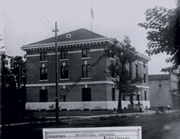 Completed post office. June, 1905