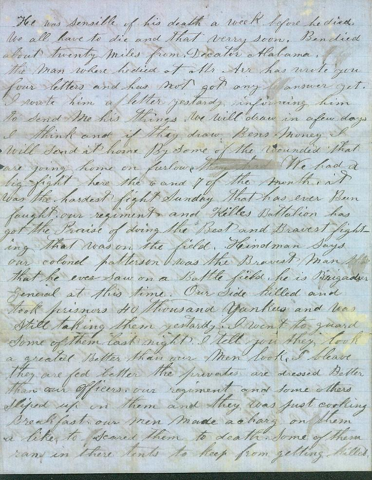 civil war letters civil war letter 1128